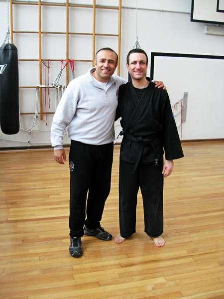 con il maestro Godhania nel 2009