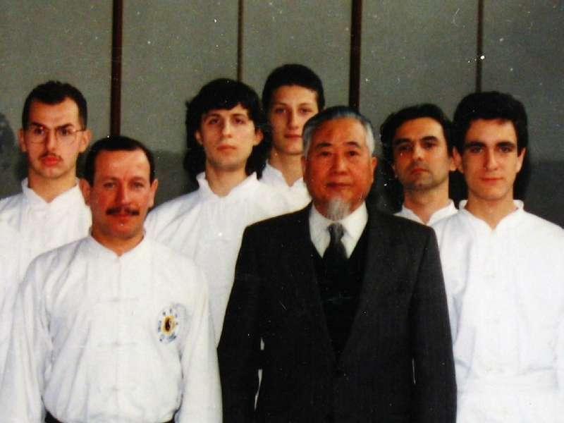 con il maestro Chang