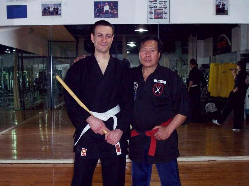 con il G.M. Dacayana - aprile 2004