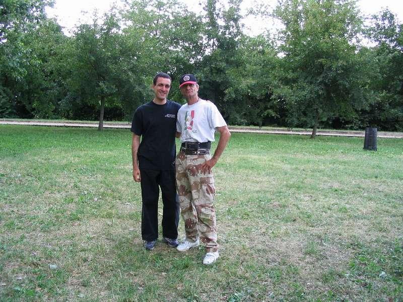con il M. Greg Alland nel giugno 2004
