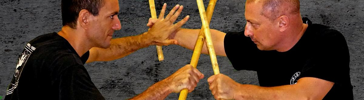 kali e difesa personale a verona - un bastone vs due bastoni